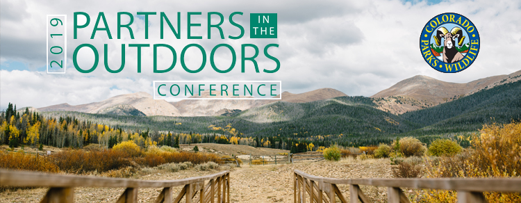 April 27, 2019: 2019 Partners in the Outdoors Conference, Breckenridge, CO