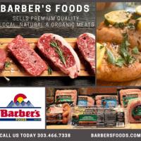 385x358 barbers foods for Haystack Help Radio