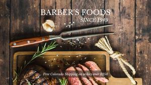 December 12, 2020: Davis Tent – Barbers Foods – The Outdoorsman's Attic