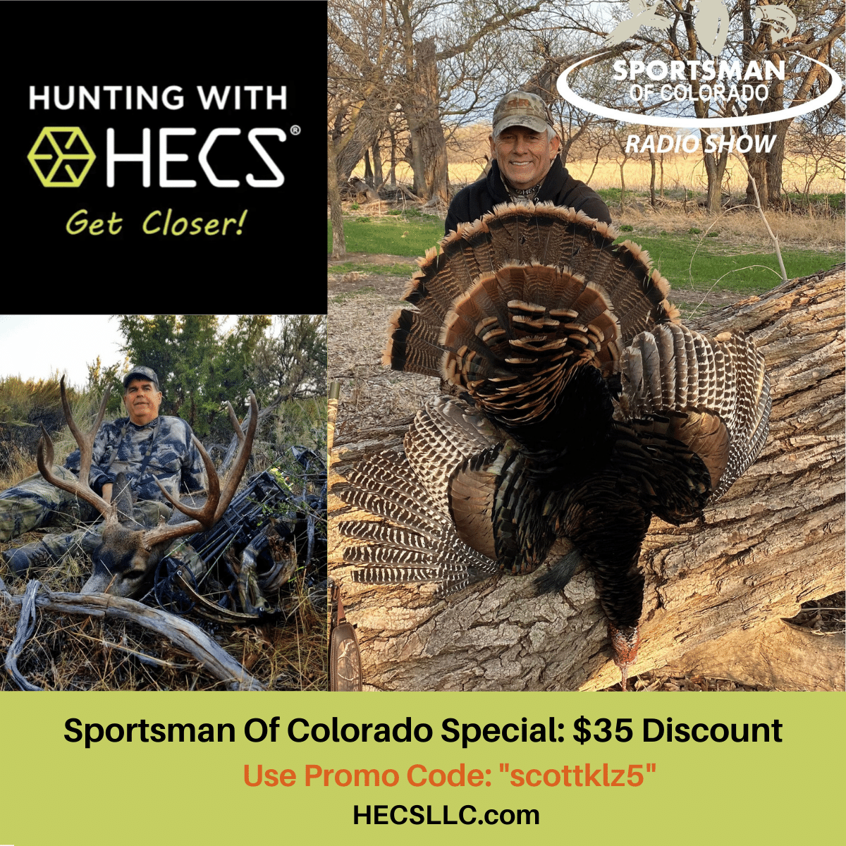 May 1, 2021: Discount Fishing Tackle – Mike Slinkard of HECS – Will Marquardt of Davis Tent and Outdoors Geek