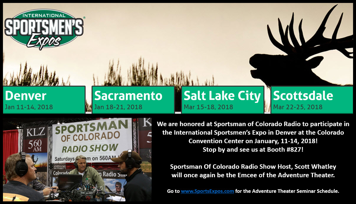 January 6: International Sportsmen's Expo Seminars: Chris Roe, Austin Parr, and Kevin Flesch – Big Game Forever