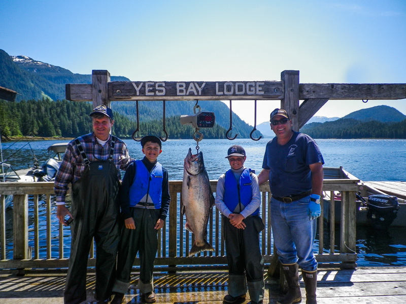 March 12: Yes Bay Lodge Fishing In Alaska