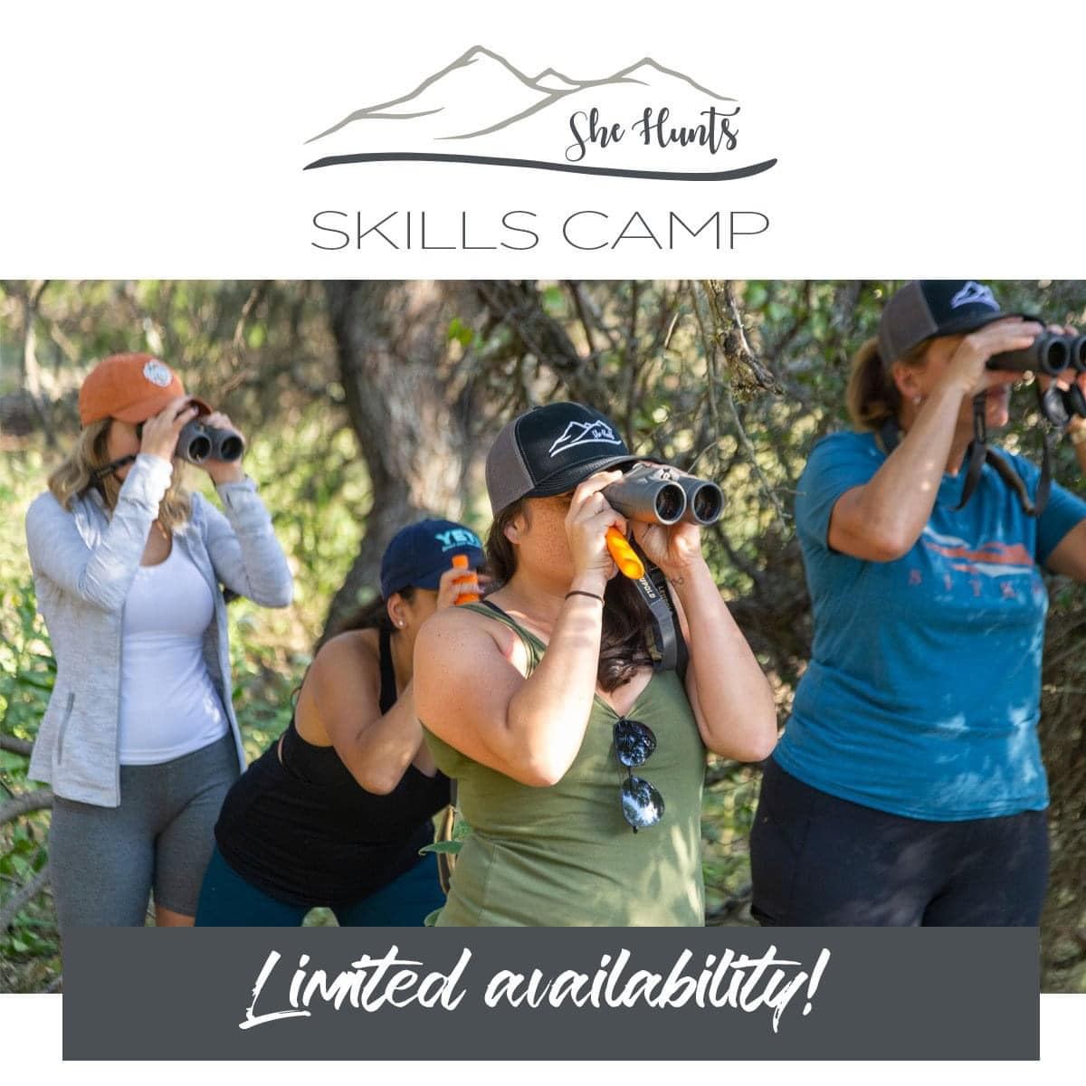 March 20, 2021: She Hunts Ladies Only Skills Camp with Brittany Boddington – Mike Slinkard/HECTS – Apex Ammunition