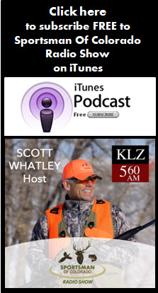 Sportsman Of Colorado Radio Show itunes subscribe