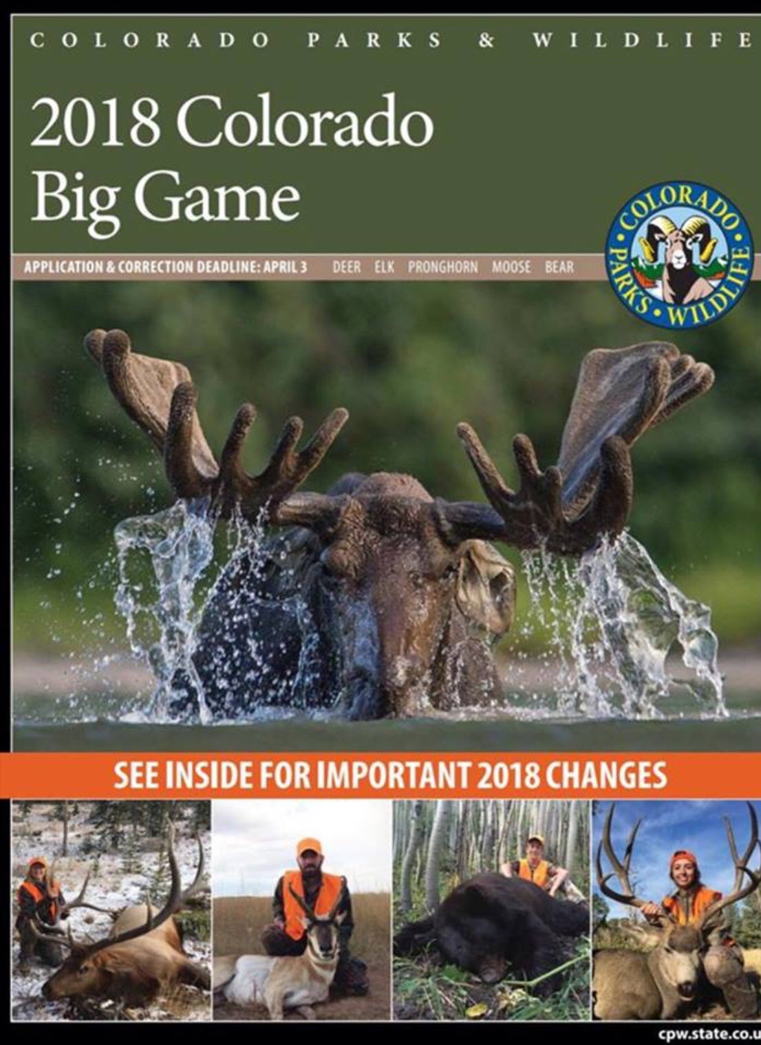 March 3: Pheasants Forever – Stack Optical – 2018 Big Game Draw with Colorado Parks & Wildlife
