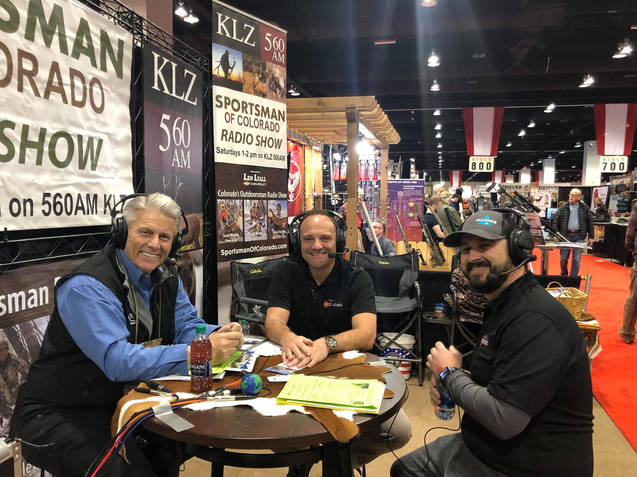 "January 11, 2020: Broadcasting ""live"" from the 44th Annual International Sportsmen's Expo at the Colorado Convention Center"