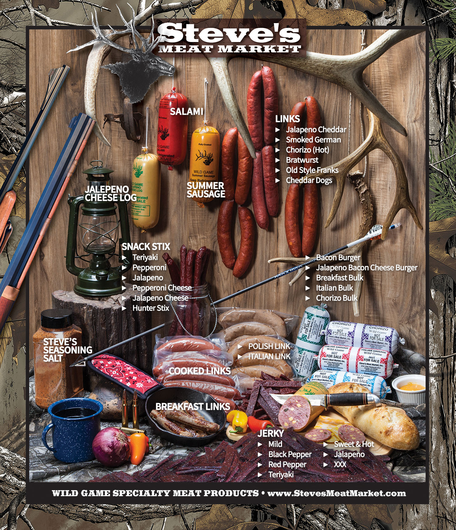 August 29, 2020: Steve's Meat Market – HECS Camo Gear