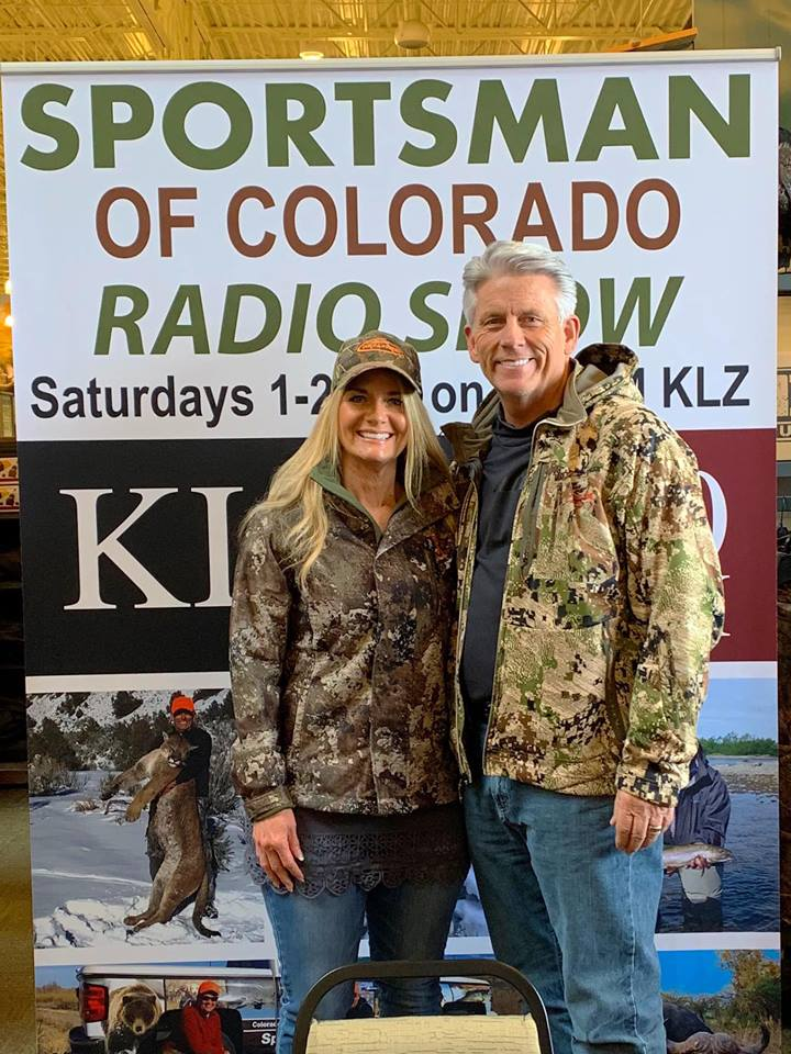 "March 30, 2019: Broadcasting ""live"" from Cabela's in Lone Tree, Colorado – It's Women in the Outdoors Day"
