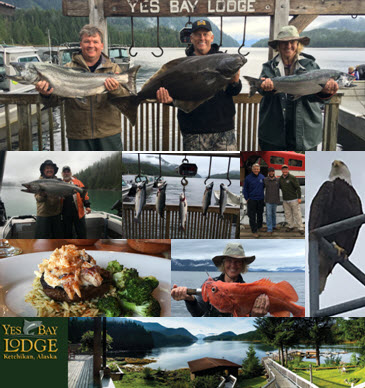 Dine On Your Fresh Catch Of The Day at Yes Bay Lodge In Alaska, The Hospitality Is Incredible!