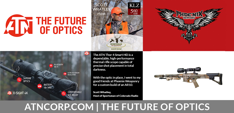 March 21, 2020: Outdoors Geek – ATN Corp. – CE Hunt Club – American Heroes In Action Banquet 8/1/20.