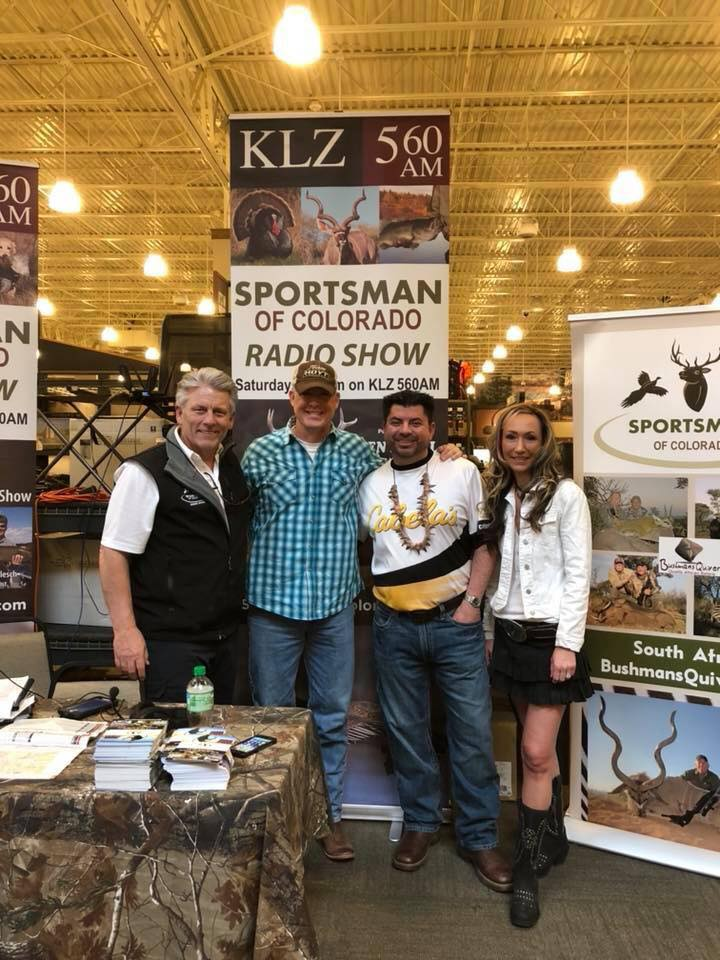 "March 10: Broadcasting ""Live"" from Cabela's In Lone Tree, Colorado"