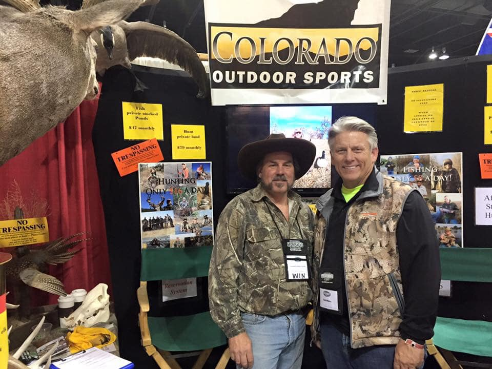 January 26: Green Mountain Guns – Kremmling Chamber of Commerce – Outdoors Radio – Colorado Outdoor Sports – Archery School of The Rockies – HuntData & Hunting Diva's