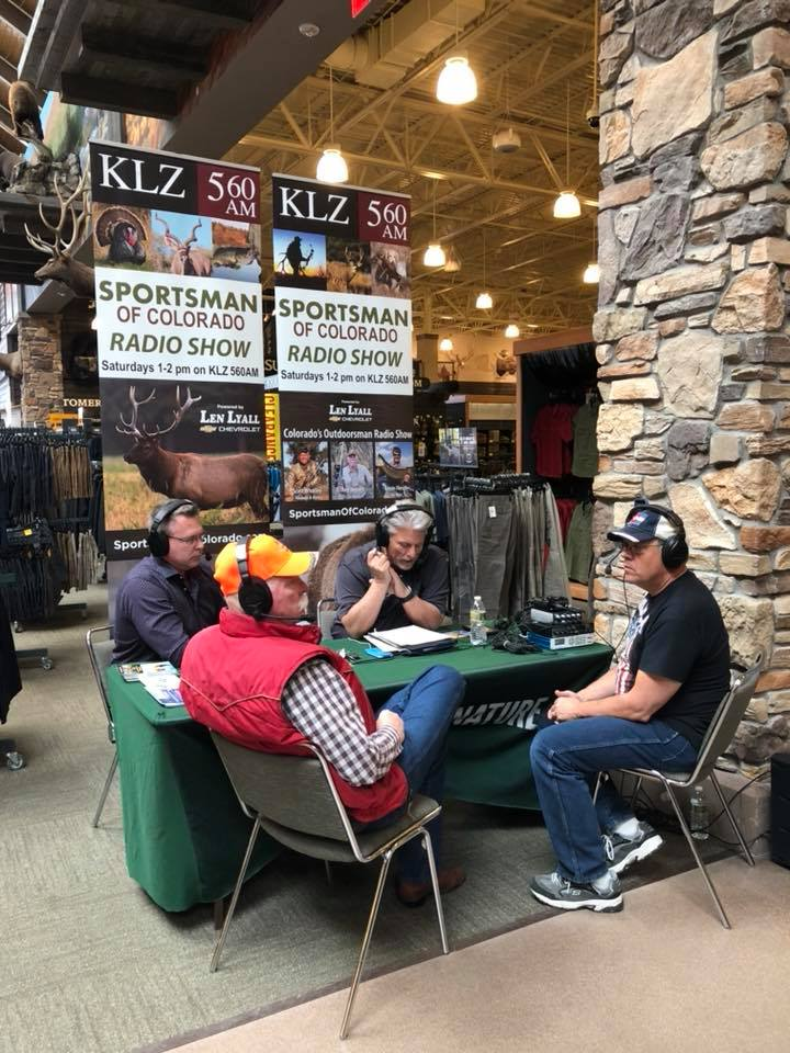 "March 24: Broadcasting ""Live"" from Cabela's In Lone Tree, Colorado"